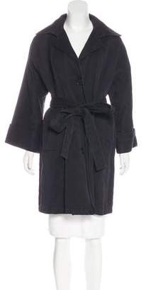 Stella McCartney Ribbed Knee-Length Coat