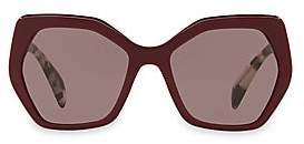 Prada Women's 56mmTinted Tortoise Sunglasses