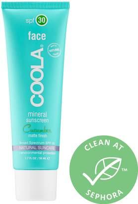 Coola Mineral Face SPF 30 - Cucumber Matte