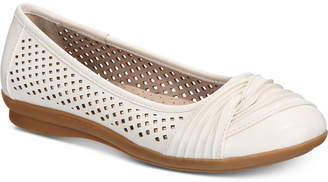 White Mountain Cliffs by Harlyn Perforated Flats Women's Shoes