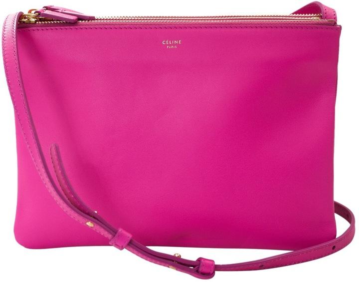 CelineTrio leather handbag