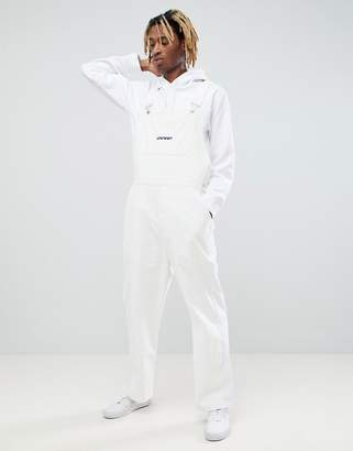 Asos DESIGN x Unknown London Cord Overalls With Side Stripes