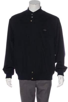 Paul & Shark Wool % Cashmere Bomber Jacket