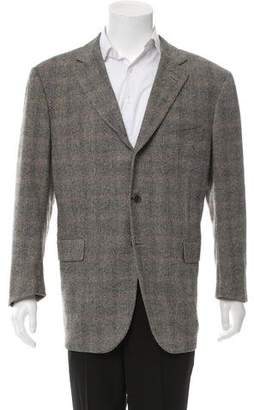 Luciano Barbera Tweed Wool Blazer