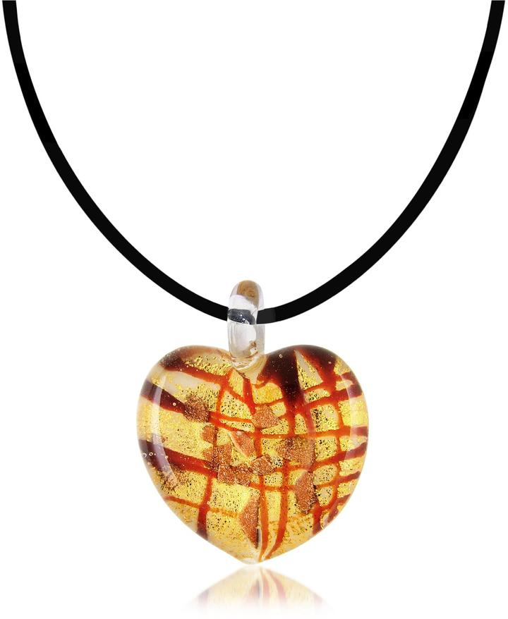 Antica Murrina Passione - Murano Glass Heart Pendant