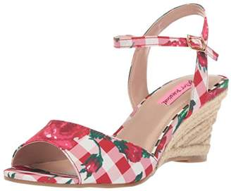 Betsey Johnson Women's Athena Espadrille Wedge Sandal 6 M US
