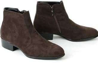 Boy London Men's Suede Zip up Chelsea Ankle Boots (7, )