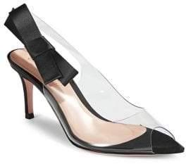 Gianvito Rossi Bow Slingback Sandals