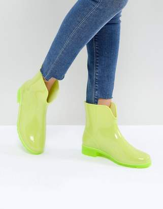 Asos DESIGN GALACTIC Glow In The Dark Wellies