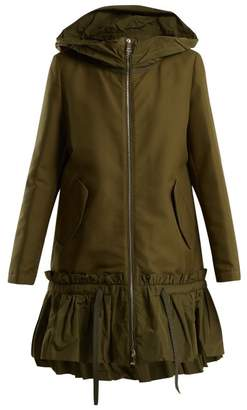 Moncler Angel Hooded Jacket - Womens - Khaki