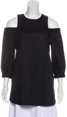 Tibi Cold-Shoulder Tunic