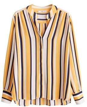 MANGO Chiffon blouse