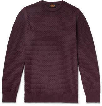 Tod's Textured Merino Wool-Blend Sweater