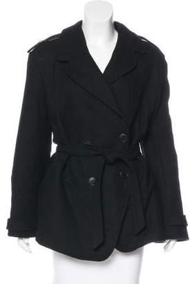 Nina Ricci Belted Wool Jacket