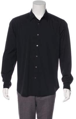 Theory Point Collar Button-Up Shirt