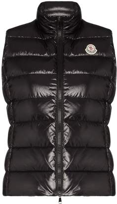 Moncler Ghany high-neck quilted gilet