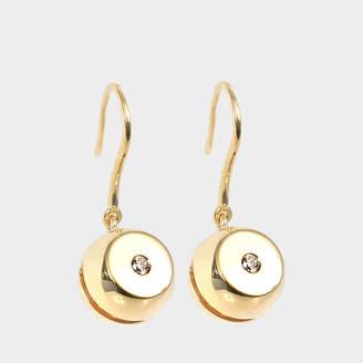 Aurelie Bidermann Telemaque mono-earring 750/1000th Yellow Gold with diamonds
