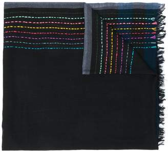 Paul Smith Black Label striped scarf