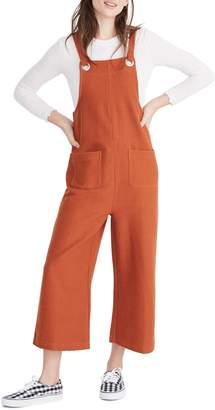 Madewell Texture & Thread Patch Pocket Overalls