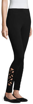 MIXIT Mixit Tall Side Cutout Womens Slim Legging - Tall