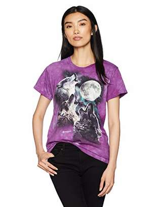 The Mountain Three Wolf Moon Adult Woman's T-Shirt