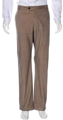 Armani Collezioni Herringbone Dress Pants