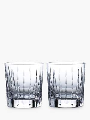 c3c87c3d7e32 Royal Doulton R&D Collection Neptune Crystal Cut Glass Tumblers, 290ml, ...