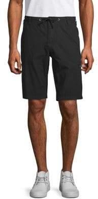 Buffalo David Bitton Hans Cotton Bermuda Shorts