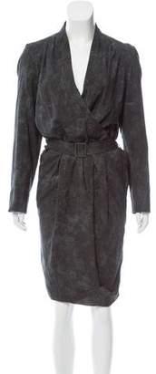 Pauw Printed Wool Dress w/ Tags