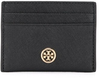 Tory Burch black and gold cardholder