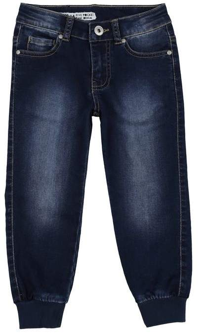 SILVIAN HEACH KIDS Denim trousers