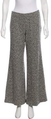 Ungaro Wide-Leg Tweed Pants