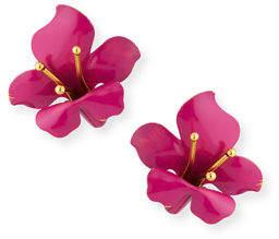 Jennifer Behr Nellie Flower Stud Earrings