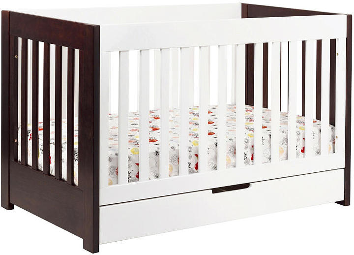 Babyletto Mercer 3-in-1 Crib with Toddler Rail - Two Tone