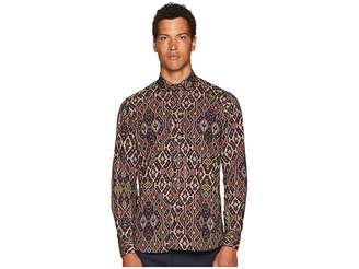 Etro New Warrant Carpet Print Shirt