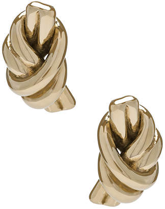 J.W.Anderson Metallic Knot Earrings