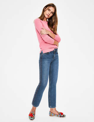 Boden Cambridge Embroidered Jeans