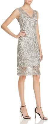 Tadashi Shoji Petites Embroidered Dress $408 thestylecure.com