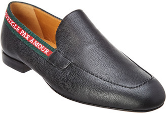 Gucci L'aveugle Par Amour Leather Loafer