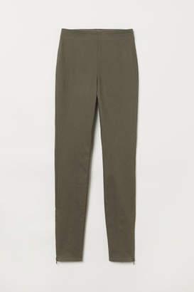 H&M Slim-fit Pants - Green
