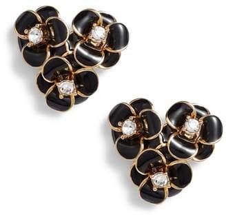 Kate Spade Shine On Flower Cluster Stud Earrings