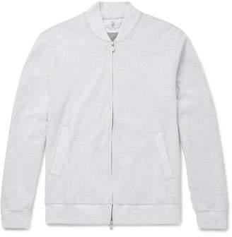 Brunello Cucinelli Cotton-Blend Jersey Zip-Up Sweatshirt