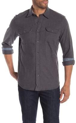 Tailor Vintage Heather Stretch Fit Flannel Shirt