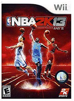 Nintendo WiiTM NBA 2K13 Video Game