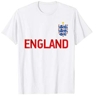 England 2018 Cheer Jersey - England Football T-Shirt