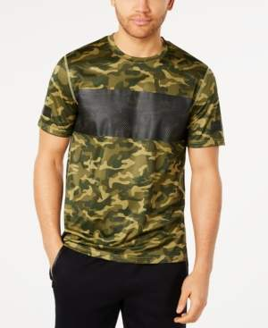 Ideology Id Men's Colorblocked Camo-Print T-Shirt, Created for Macy's