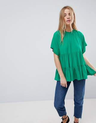 Asos DESIGN Smock Top