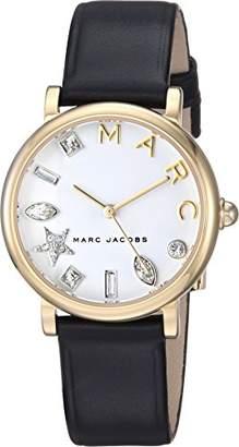 Marc Jacobs Women's MJ1600 Classic Analog Display Quartz Black Watch
