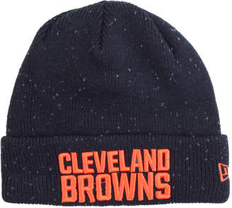 New Era Cleveland Browns Heather Spec Knit Hat