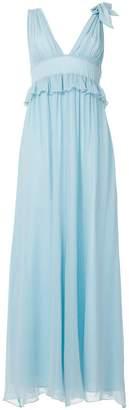 Pinko long flared dress